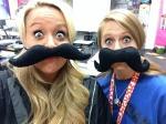 mustache?