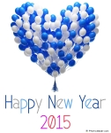 Happy-New-Year-2015-balloons-Heart-shape